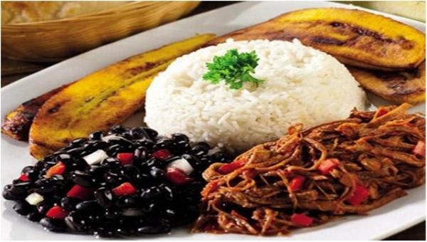 Pabellón criollo el plato favorito de Gustavo Mirabal