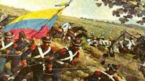 La caballería en la batalla de la victoria