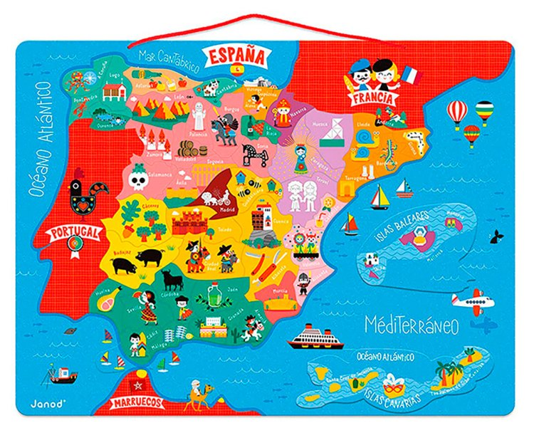 Funny Spain Map