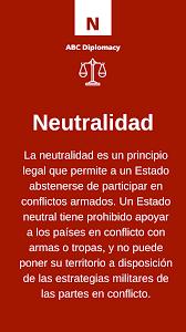La neutralidad política