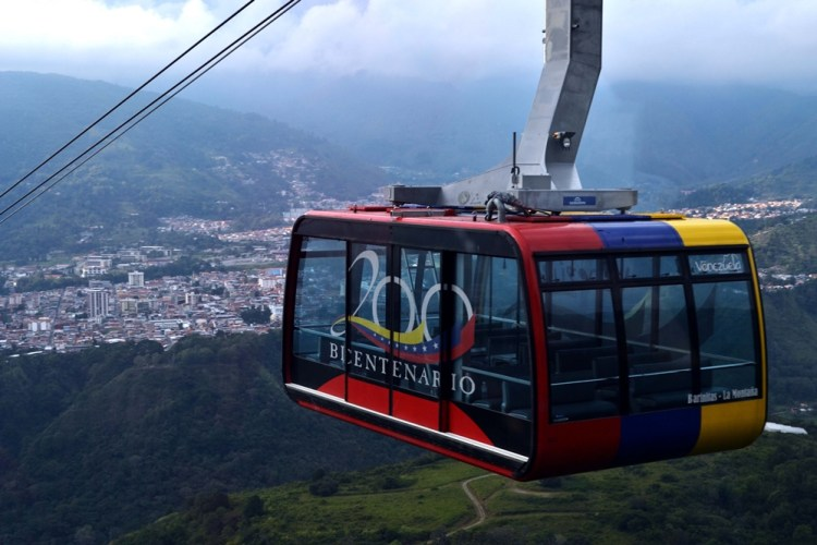 The Merida Cable Car in Venezuela - Gustavo Mirabal's Favourite Cities