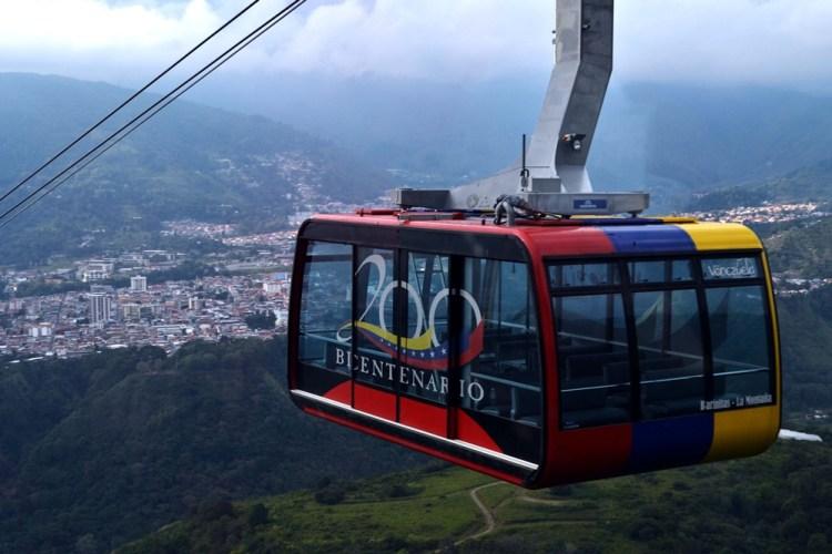 El teleférico de Mérida en Venezuela - Ciudades favoritas de Gustavo Mirabal