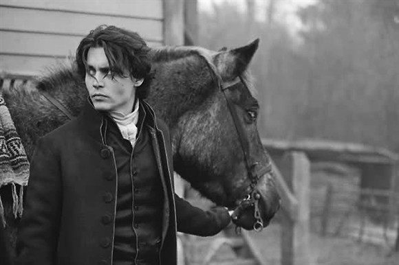 Johnny Depp - A celebrity who loves horses