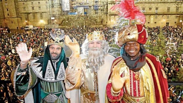 Festivities of the magi in Spain