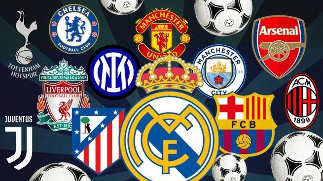Los integrantes de la Superliga Europea
