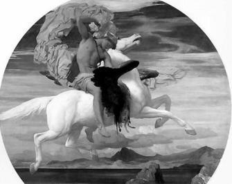 Apollo on horseback