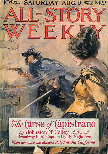 The curse of capistrano - The first story of Zorro, a masked hero on horseback