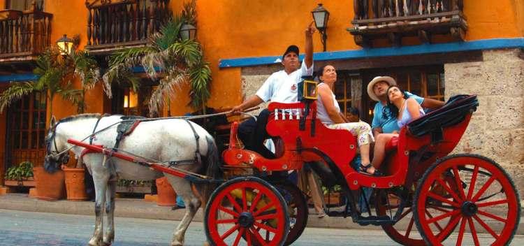 Paseos con caballos cocheros en Cartagena - Turismo y Maltrato