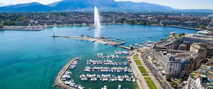 Geneva - The capital of Switzerland