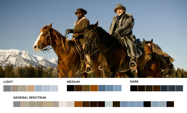 Western color palette example - Decoration for horse lovers