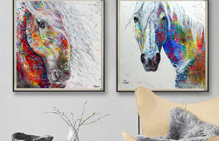 Un sitio moderno para los amantes de los caballos
