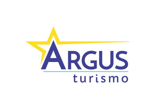 Logotipo Argus Turismo com fundo claro