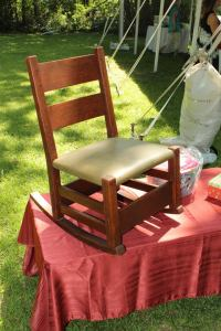 Gustav Stickley circa 1903 Thornden Rocking Chair