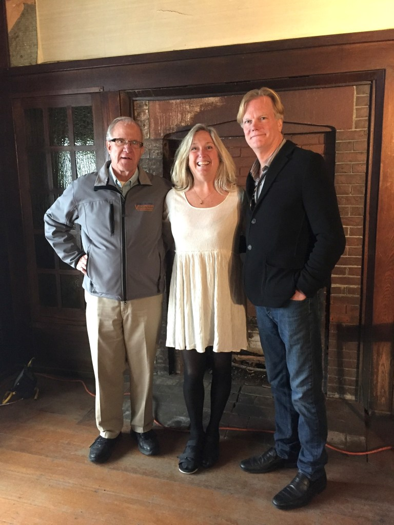 Ben Wiles, Tina Jarvis & Scott Fields at Gustav Stickley House