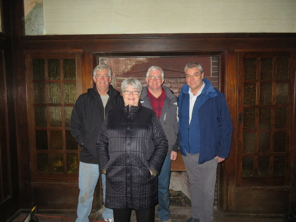 Richard Wiles, Barbara Fuldner, Peter Wiles, Jim Williams
