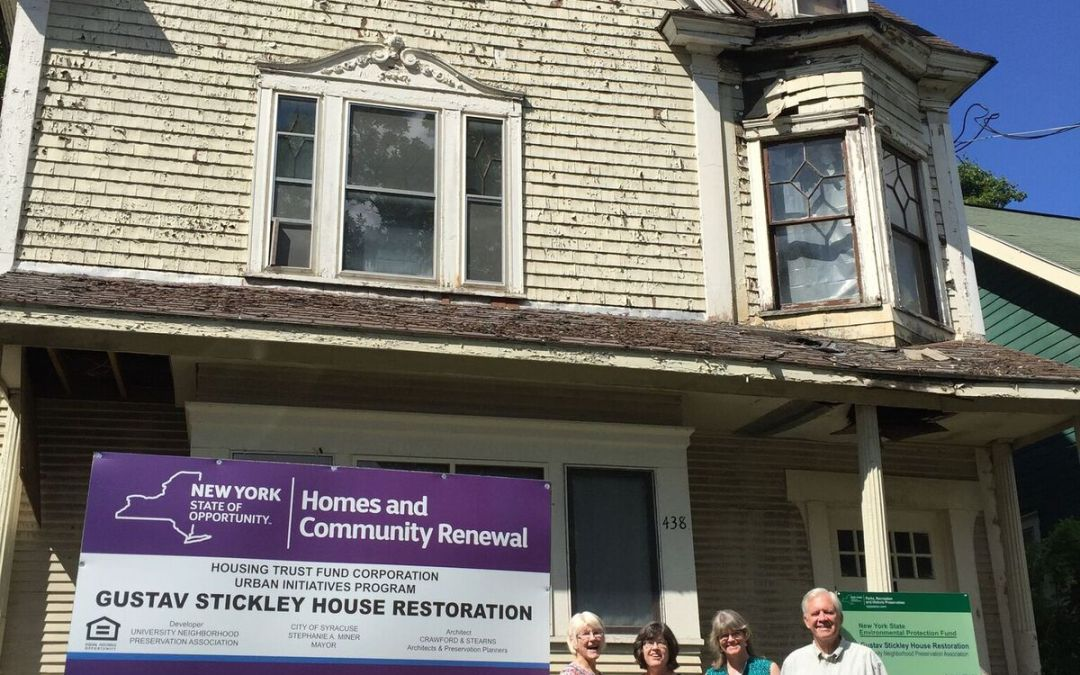 Family Visits to the Gustav Stickley House