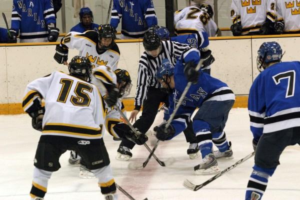 Men's Hockey Drops Third Straight, Loses to Marian 4-0 ...