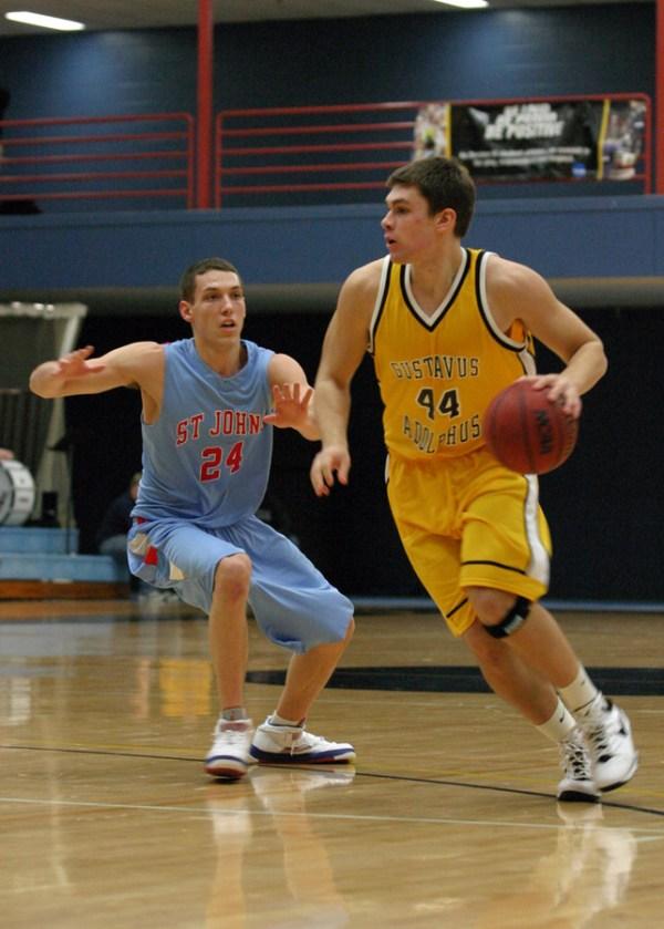 Strong Second Half Helps Men's Basketball Defeat Saint ...