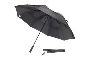 Gustbuster Windproof Golf umbrella Black 62''