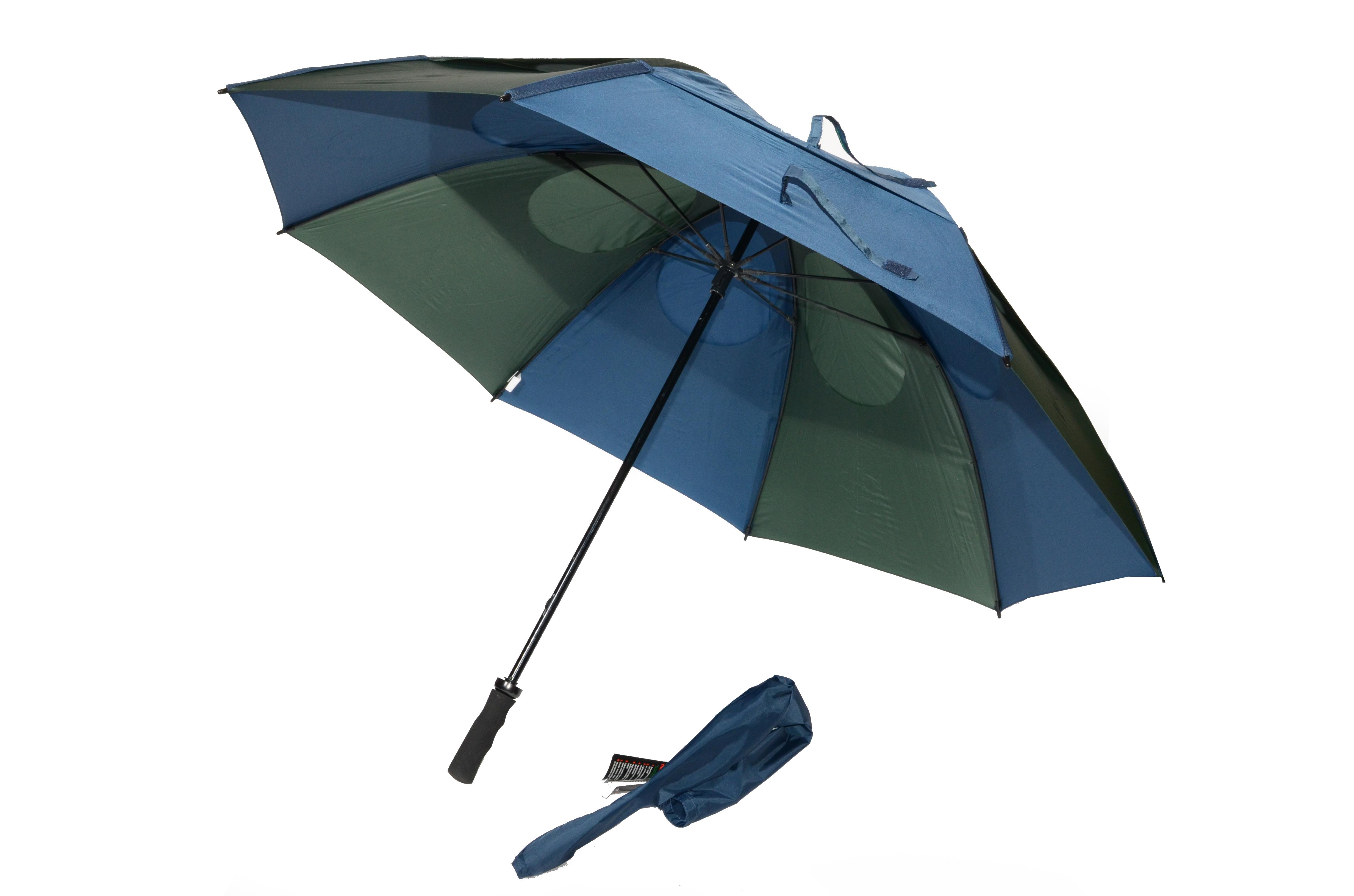 Gustbuster Golf umbrella navy hunter 62''