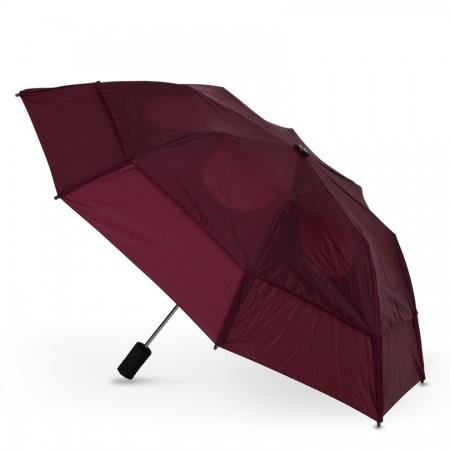 GustBuster windproof Metro umbrella Burgundy