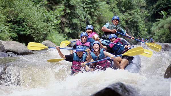 Ubud Water Rafting