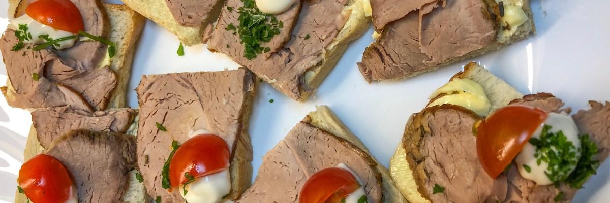 Filet-Brötchen