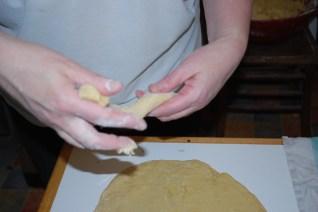 mettre en forme la pâte