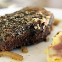 Crocktoberfest: Yucatan Braised Short Ribs and Chipotle-Cheddar Mashed Potatoes