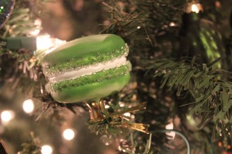 Clip On Macaron Ornament from Bergdorf Goodman
