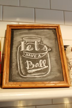 Have a Ball Chalkboard Callie's Hot LIttle Biscuits Charleston