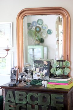 Dining Room Vignette Gusto and Grace Blog