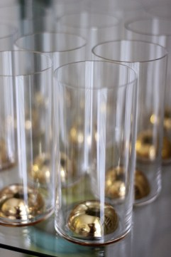 Gold Bubble Glasses from Anthropologie Made in Poland
