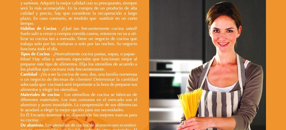 """""""Utencilios para la Cocina Gran Variedad y Usos"""" vía Revista Taste"""