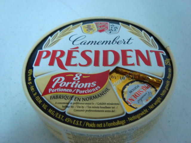 """Camembert Francés Président (snack bite)"""