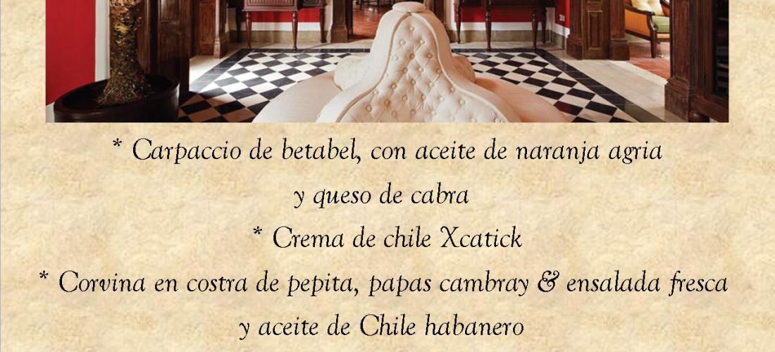 """Cenas Gourmet """"Casa Lecanda"""" 28 de Enero 2012"""