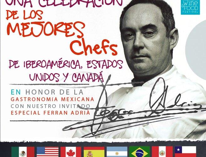 """Una Celebración de los Mejores Chefs """"Cancún Wine & Food Festival"""""""