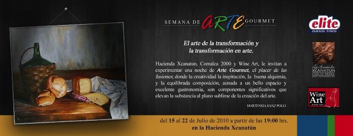 «Semana Arte Gourmet» Hacienda Xcanatún