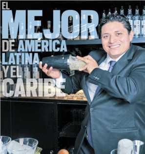 """Crónicas detrás del Bar por Jesús Cabrera """"Campeón Mixología de América Latina y Caribe"""".vía Revista Taste"""