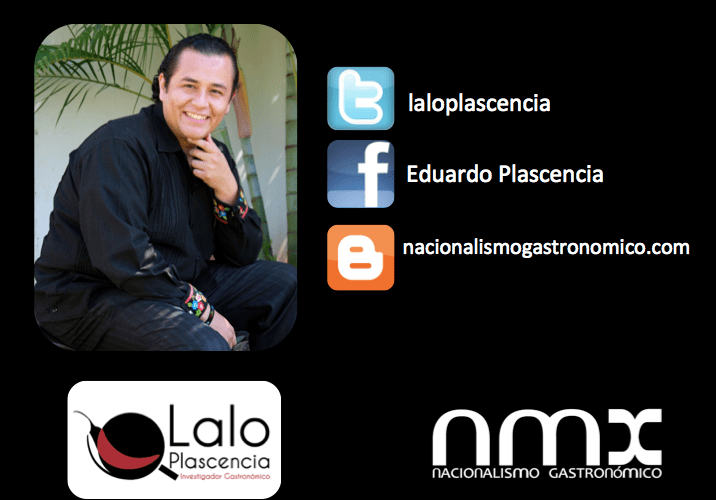 Conoce Chef investigador Eduardo Plascencia @laloplascencia y su propuesta de #lanuevabandaMX