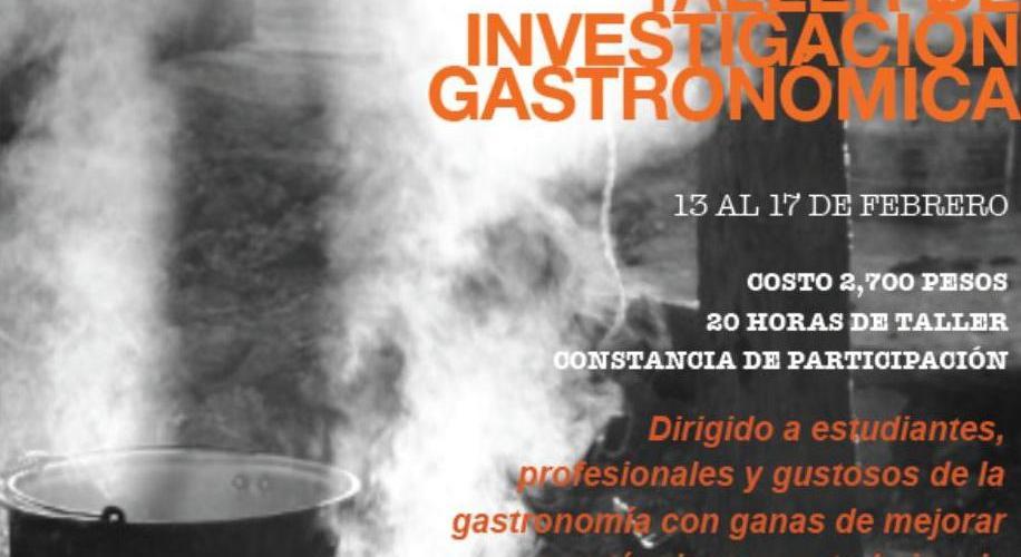 Taller Investigación Gastronómica en Mérida «Chef Eduardo Plascencia»