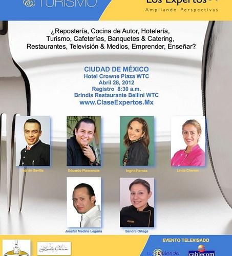 """""""Una Clase con Los Expertos"""" Hotel Crowne Plaza WTC 28 Abril"""