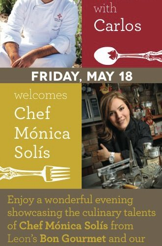 Cena especial by Chef Carlos Hannon @carlos_hannon & Chef Mónica Solís @Monsolis 18 Mayo