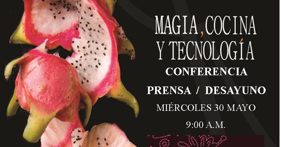 Conferencia de Prensa Madrid Fusión @madridfusionMex en @RosasyXocolate Hotel Boutique Mérida Yuc.