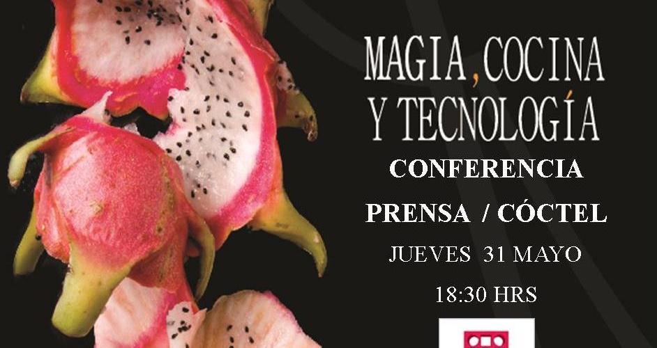 Conferencia de Prensa Madrid Fusión México @madridfusionMex en Taller Gourmet @FedericoALopez