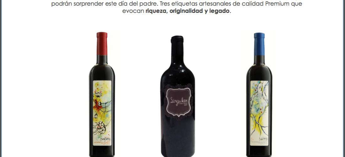 Hacienda La Lomita vitivinícola del Valle de Guadalupe @HdaLaLomita ofrece esta selección de vinos para Papá