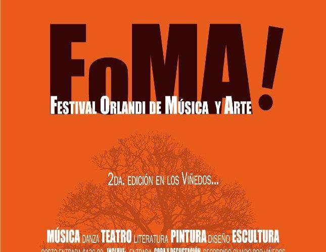 Viñedos la Redonda @laredonda Presenta «FOMA» 19 y 20 Mayo 2012
