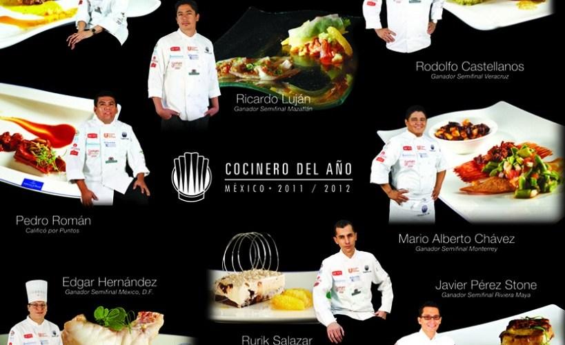 """Conoce a los finalistas que se disputan el título """"Cocinero del Año 2012"""" @cocineromexico @alimentariamx"""