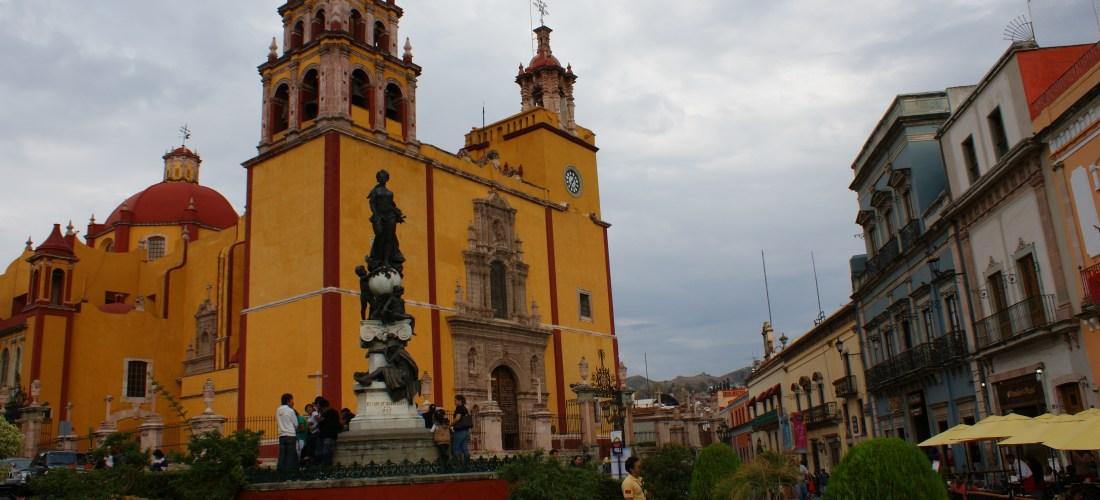 "#México a través de la lente ""Catedral Guanajuato"" @madridfusionMex #MFMex12"