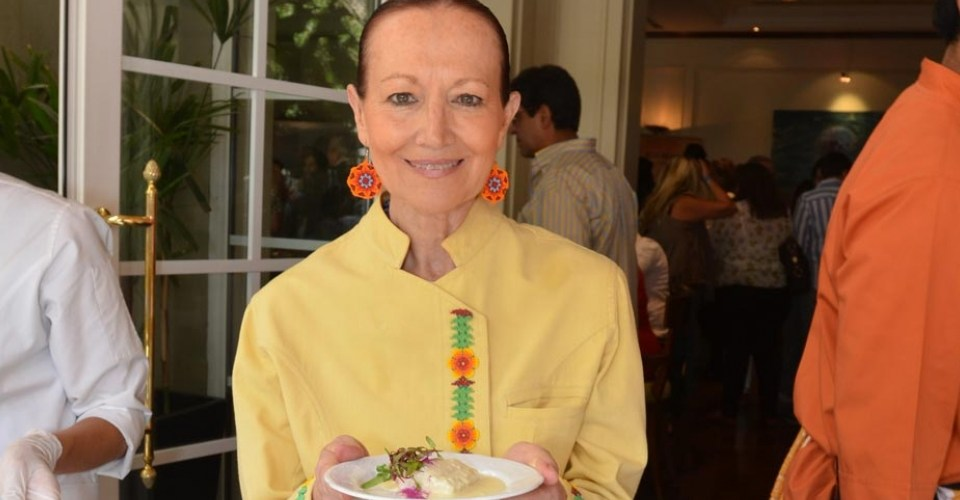 "#Chef Patricia Quintana @PQuintanaChef participó en ""Los Sabores del D.F"""